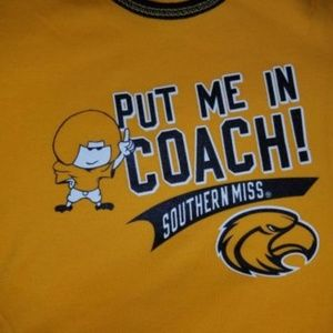 Pro Edge One Pieces - Southern Mississippi USM Onesie 2 pack